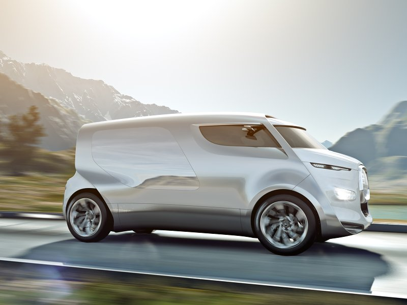 Koncept luxusního minibusu od Citroënu
