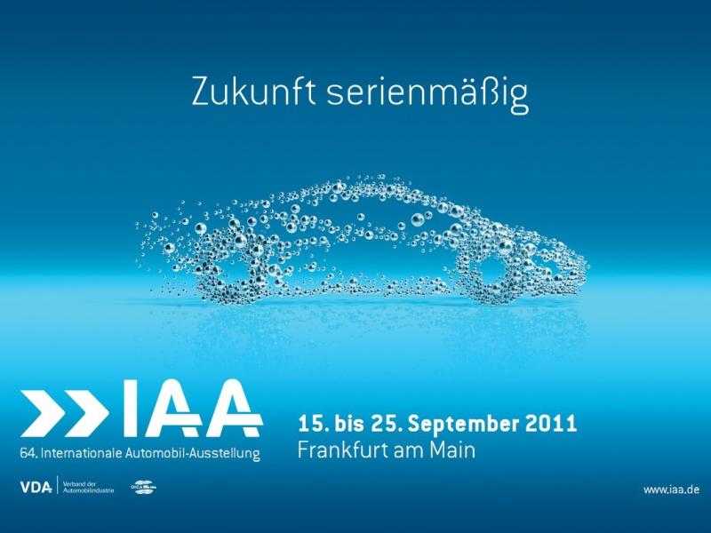 IAA Frankfurt 2011 dnes otevírá své brány