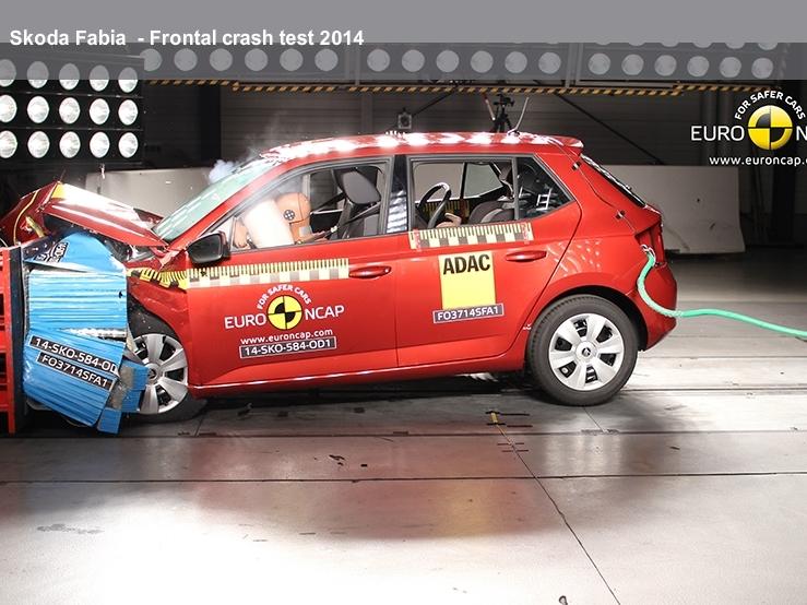 Nová Škoda Fabia získala pět hvězd v testech Euro NCAP