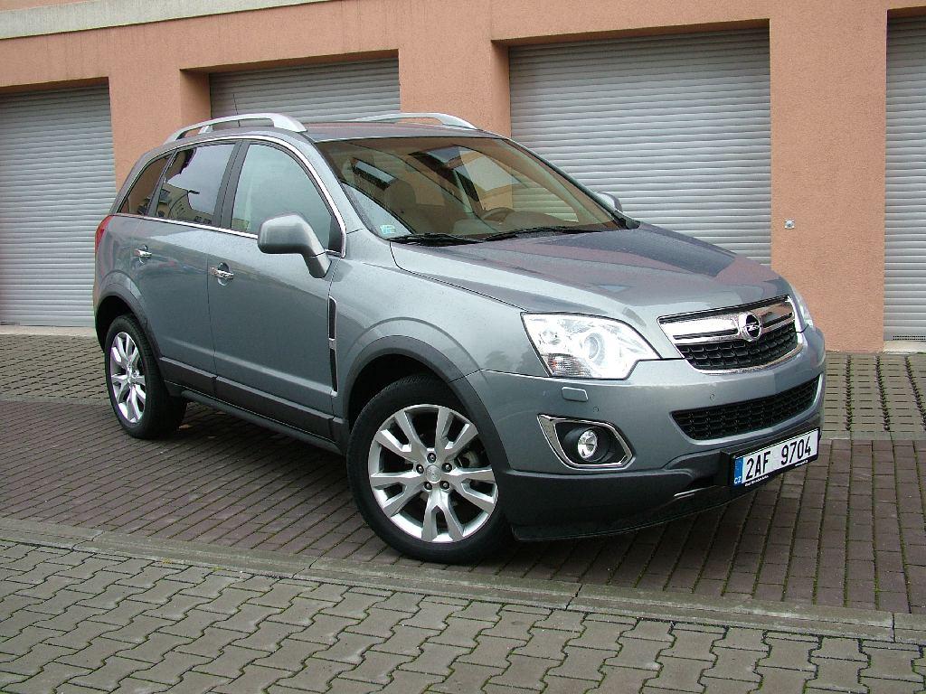 Test: Opel Antara 2.2 CDTI – Zlatá střední cesta