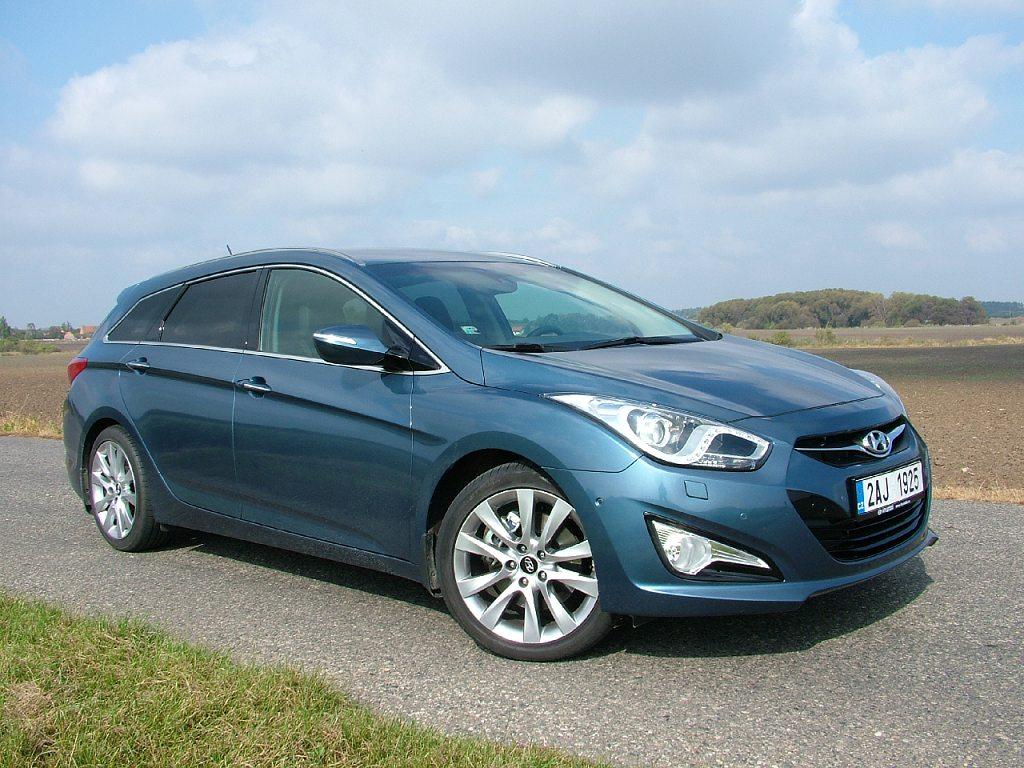 Test: Hyundai i40 CW – Vstupenka mezi elitu