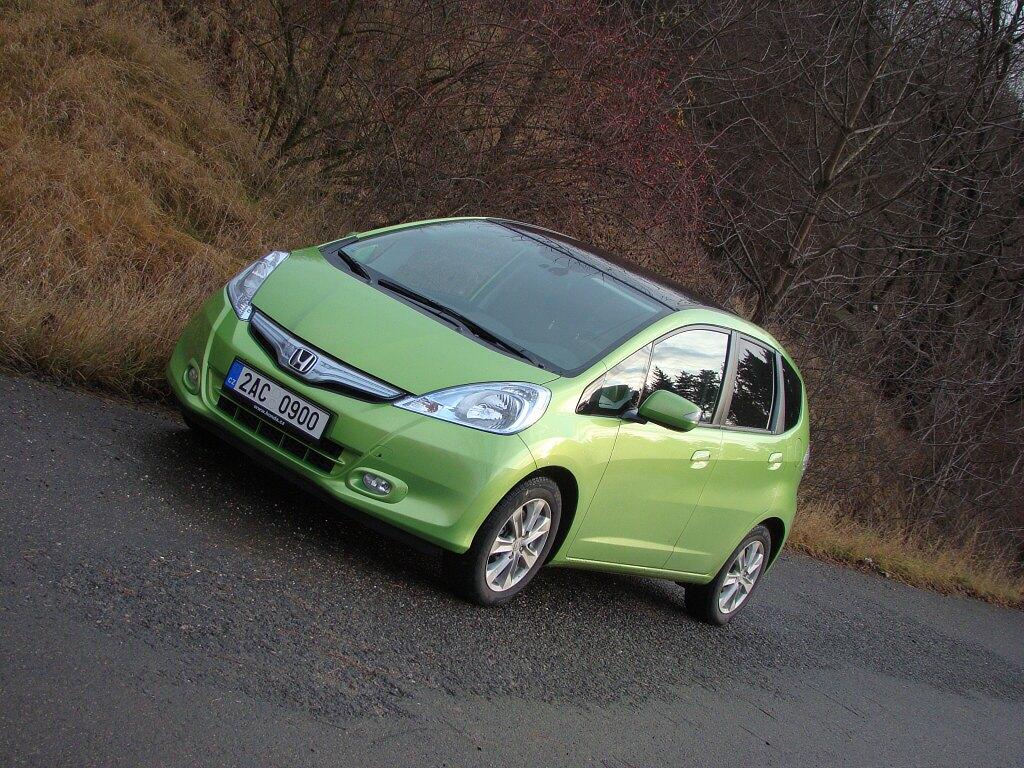 Test: Honda Jazz Hybrid - nejdostupnější hybrid