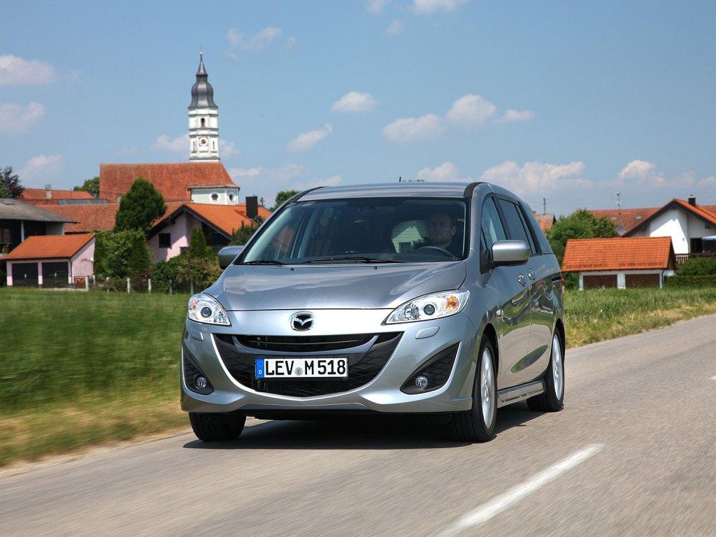 Mazda 5 - levnejší až o 56.000 Kč