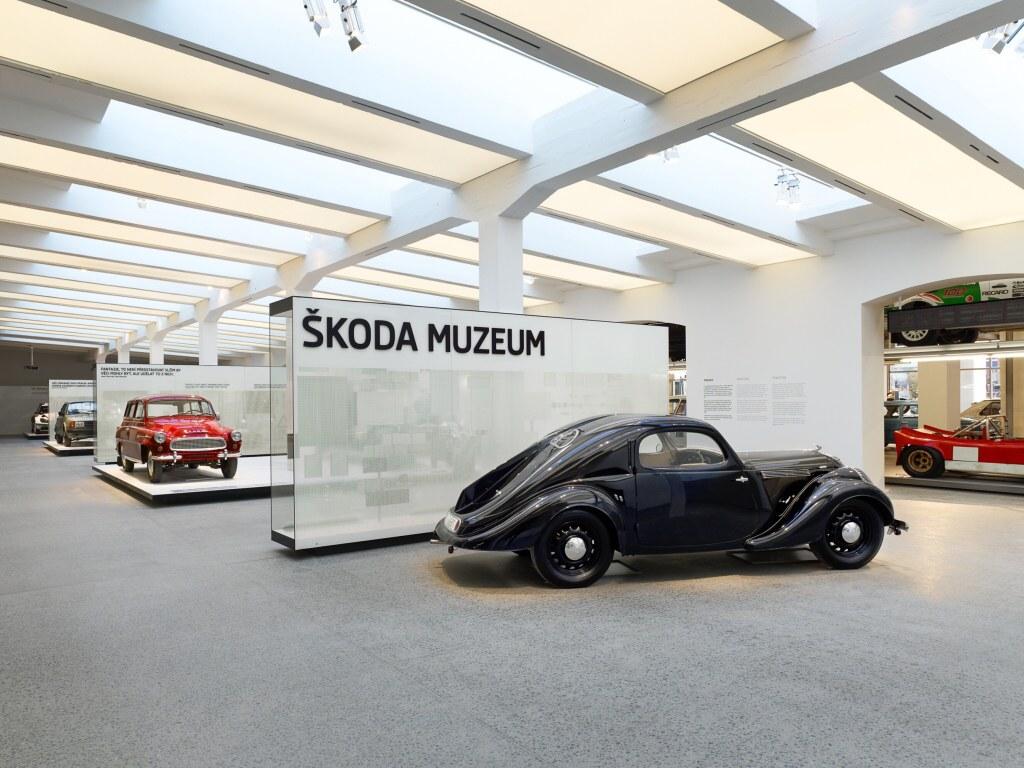 Škoda otevírá nové muzeum