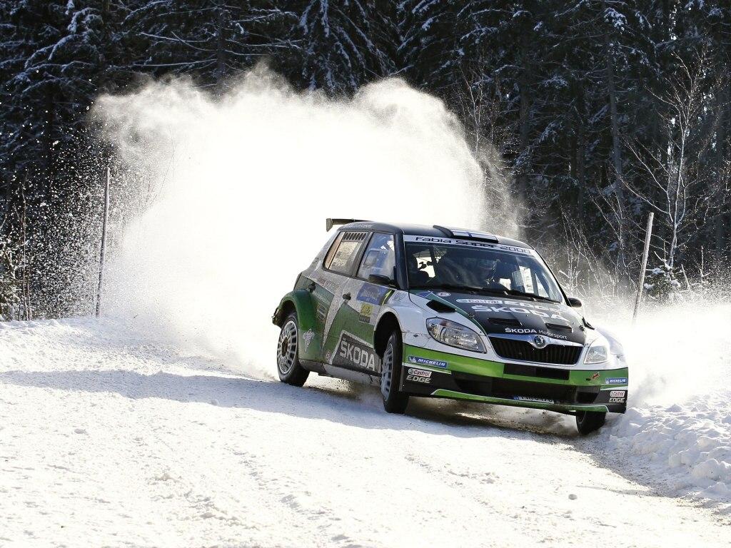 Jänner Rally - double Škody, první Kopecký, druhý Hännninen