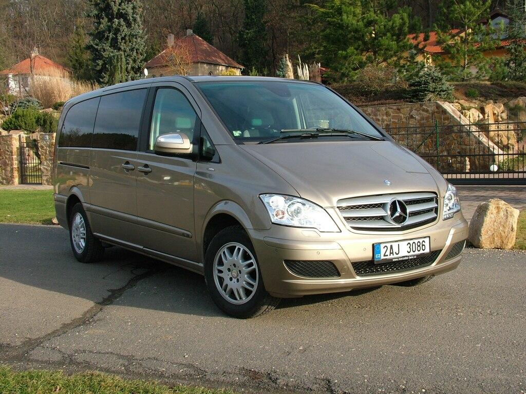 Test: Mercedes-Benz Viano Fun – Je libo postel v MPV?