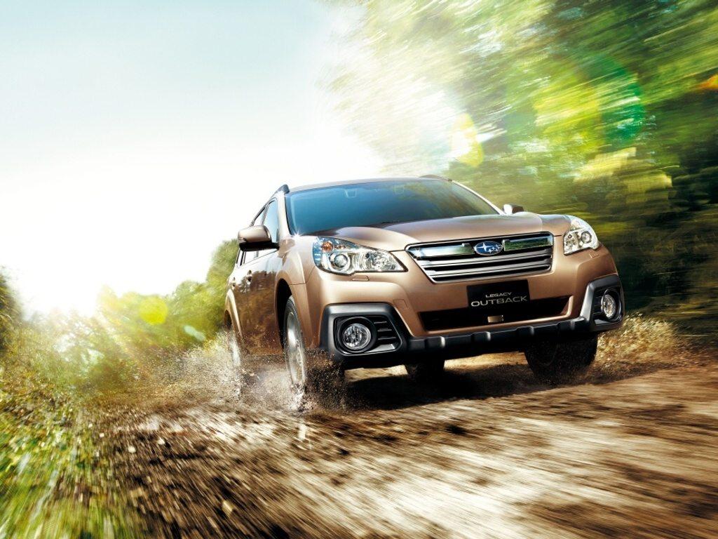 Facelift Subaru Legacy a Outback v Japonsku