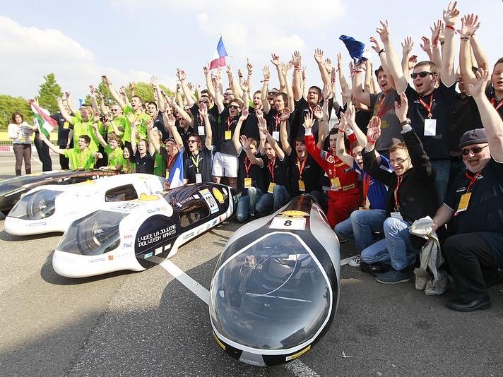 Tři nové rekordy na evropském Shell Eco-Marathonu