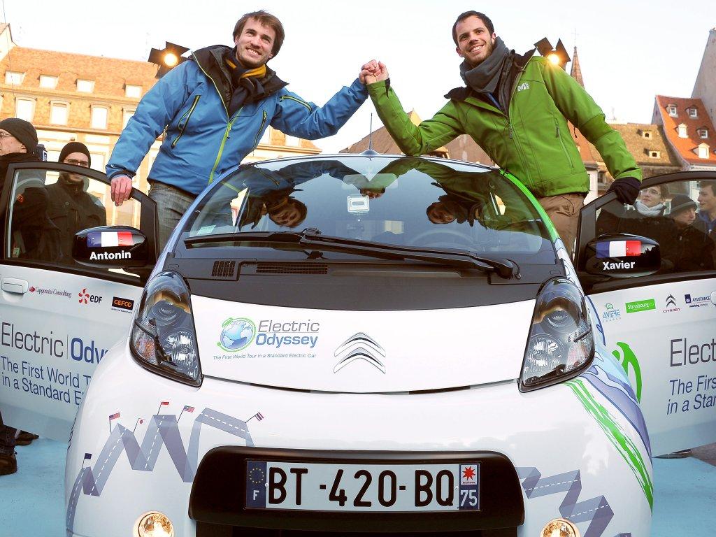 Elektrický Citroën C-Zero podniká cestu kolem světa