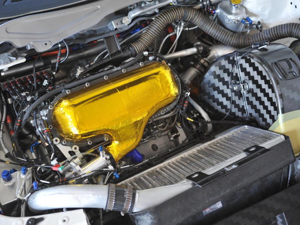 Honda vstoupí do WTCC s novým motorem