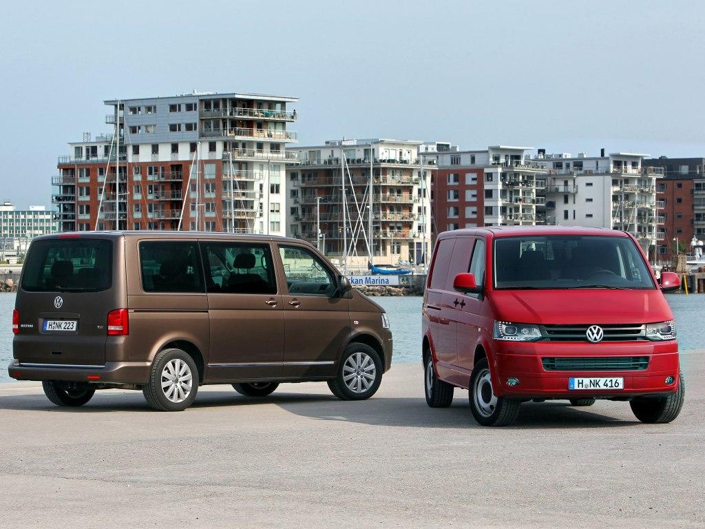 Nové motory pro Volkswagen Multivan a Transporter