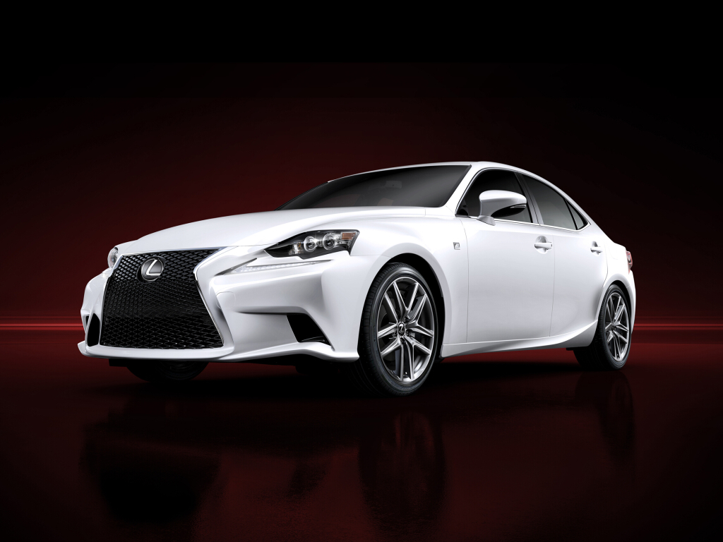 Nový Lexus IS na fotografiích