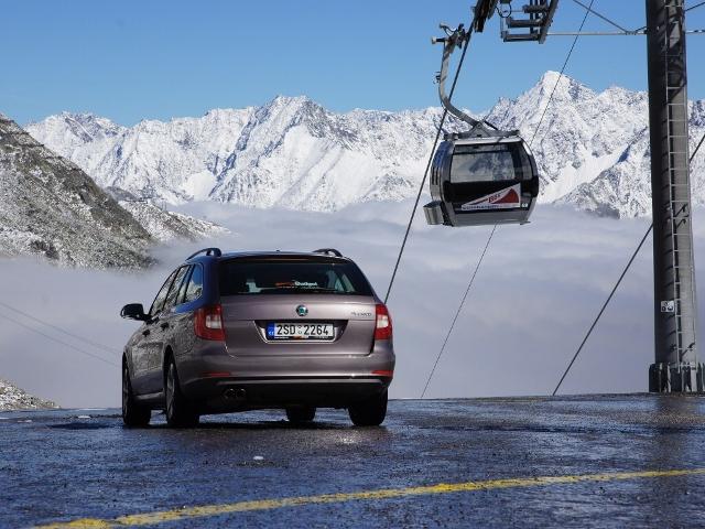 Hory volají - autem za zimními sporty