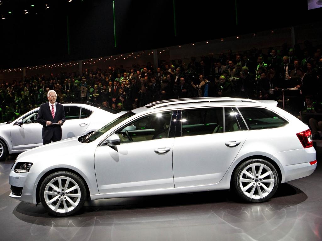 Ženevský autosalon - Škoda Octavia Combi odhalena