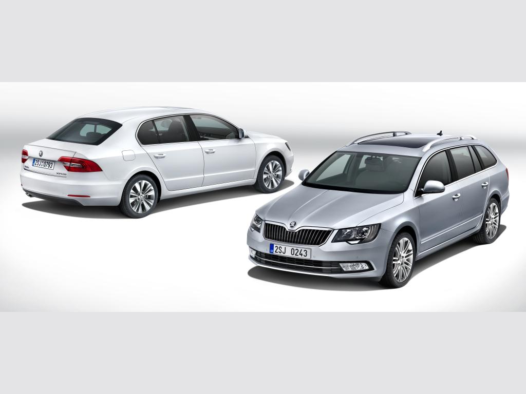 Škoda Superb 2013 je po modernizaci