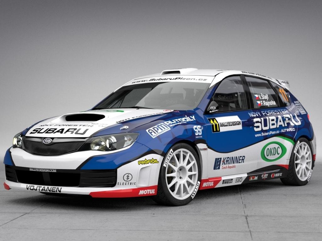 Vojta Štajf představil nový design speciálu Subaru WRX STI