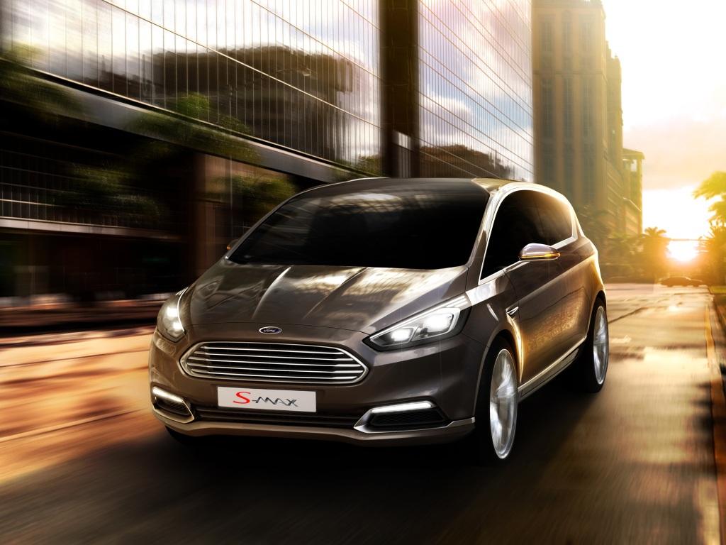 Ford S-Max 2014 je na světě jako koncept