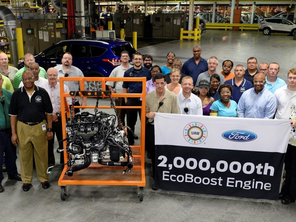 Ford vyrobil již 2 miliony motorů EcoBoost