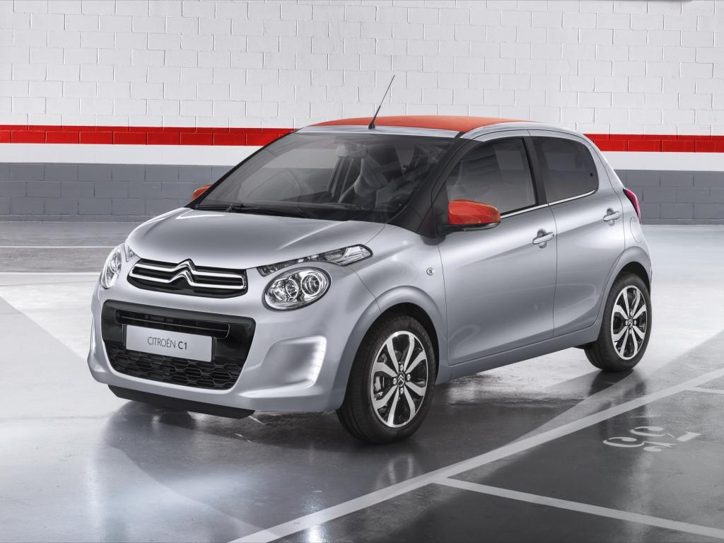 Další z kolínských trojčat - nový Citroën C1
