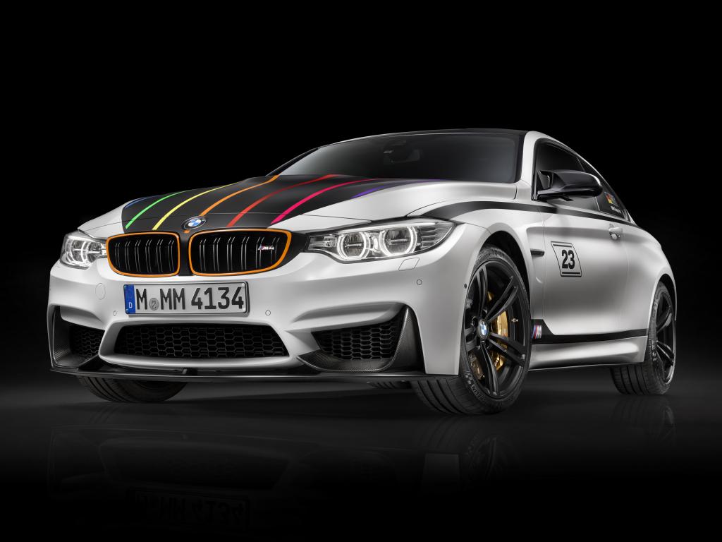 BMW M4 DTM Champion Edition - oslava jezdeckého titulu