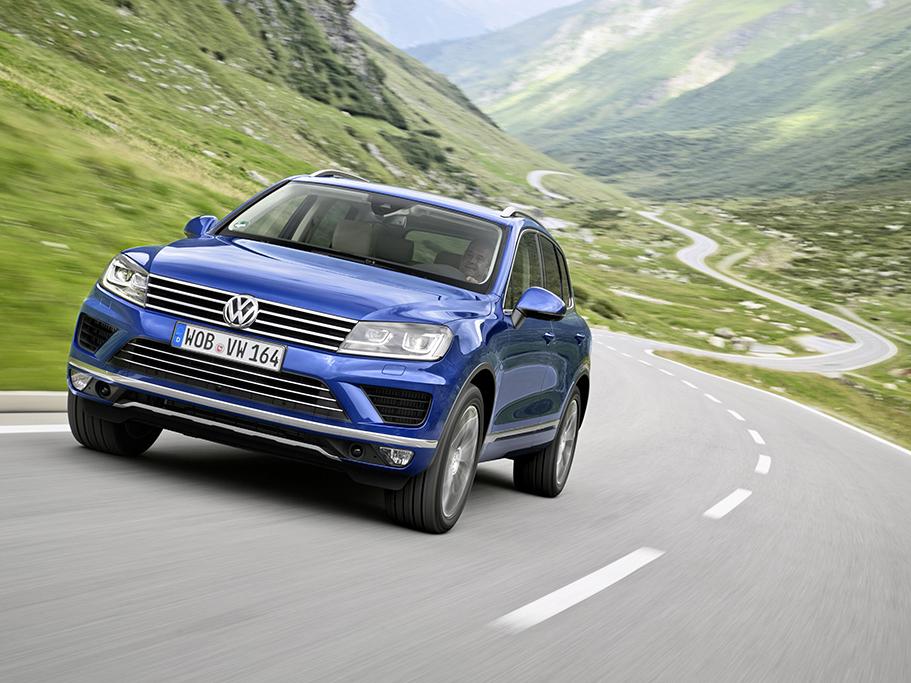 Prodej omlazeného Volkswagenu Touareg zahájen