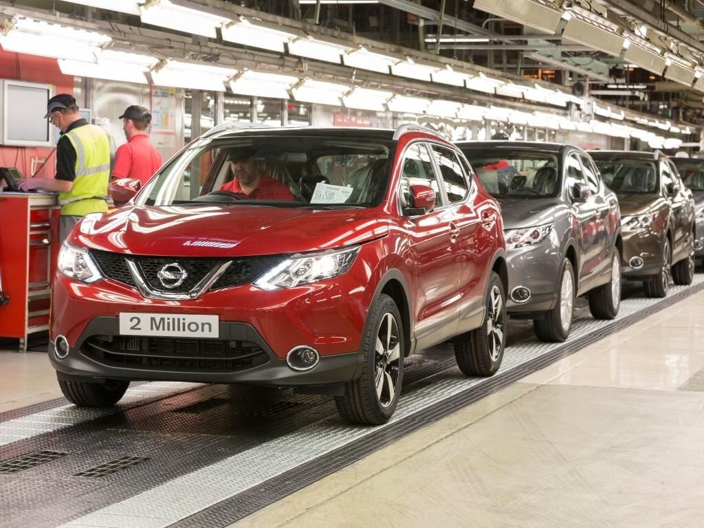 Nissan Qashqai je úspěšný, vyrobeno již dva miliony exemplářů