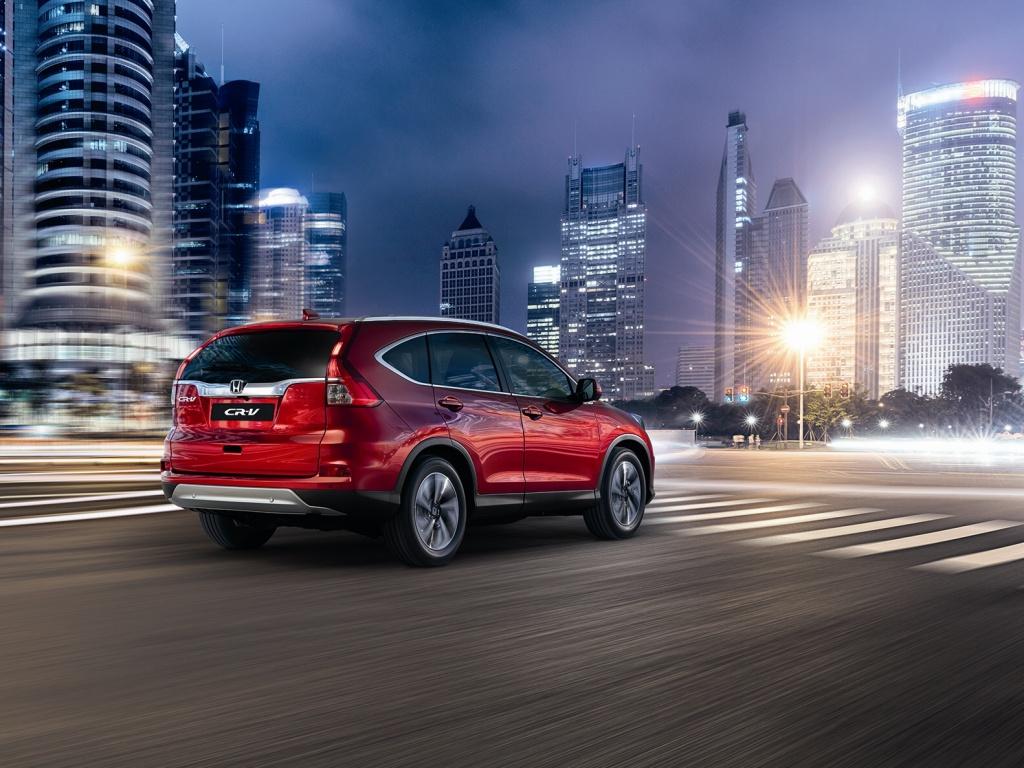 Honda CR-V dostane nový motor a devítistupňový automat