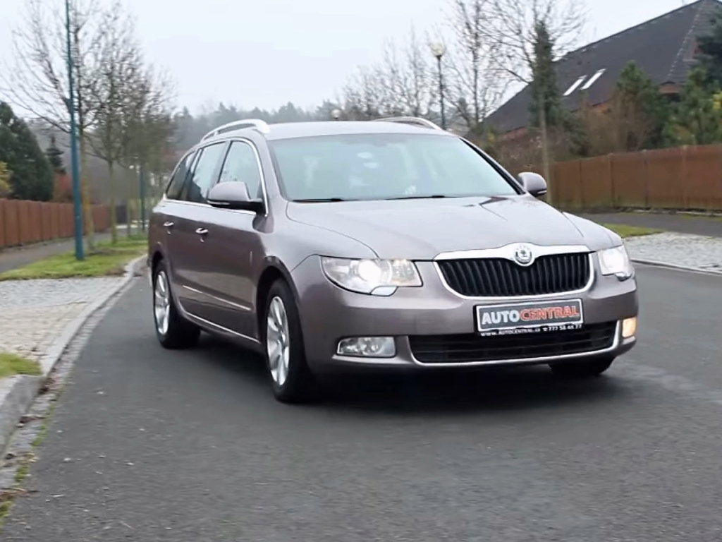 Video: Škoda Superb kombi 2.0 TDI