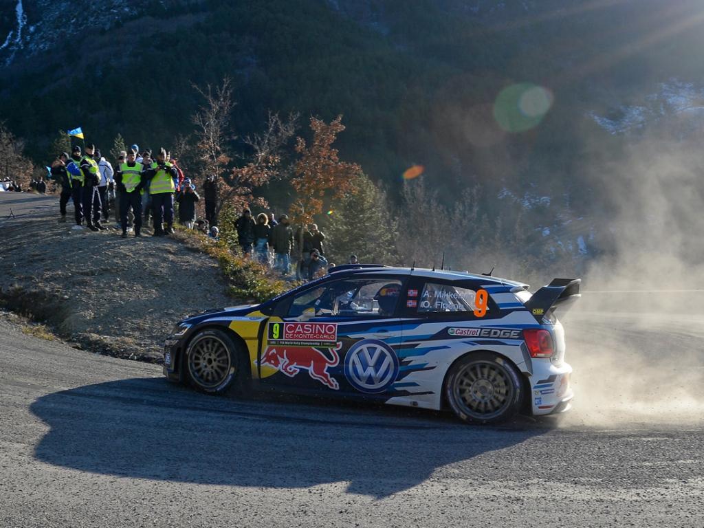 Volkswagen kraloval na Rallye Monte Carlo