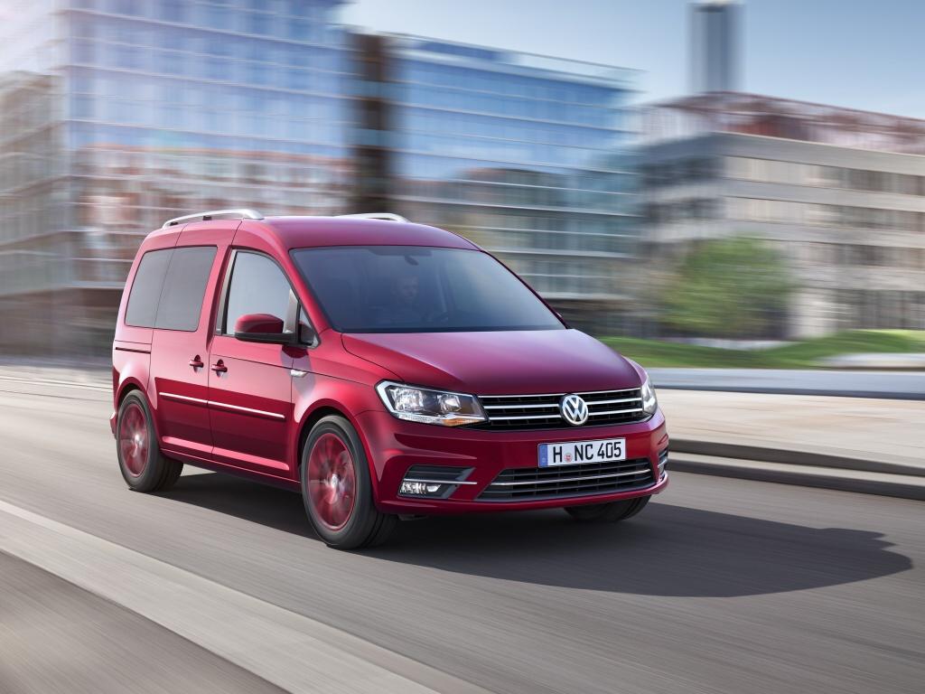 Nový Volkswagen Caddy - informace a fotografie