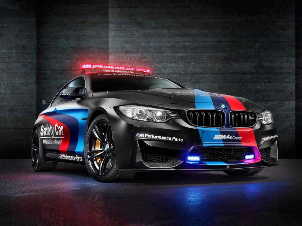 Safety Car pro MotoGP bude BMW M4 Coupé
