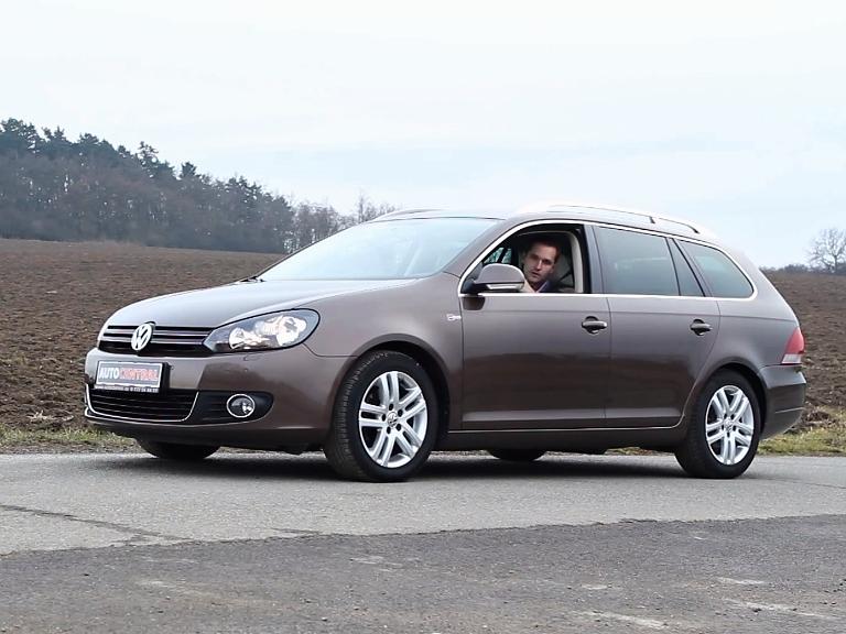 Sen českých rodin: Volkswagen Golf VI. Variant