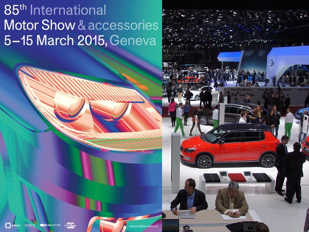 Autosalon Ženeva 2015 se blíží - základní informace