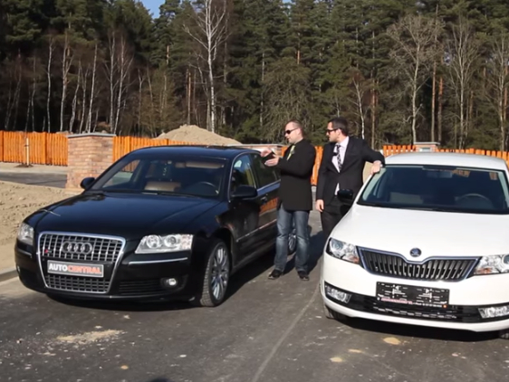 Audi A8 3.0TDI Quattro - luxusní limuzínu nebo novou Škodu Rapid?
