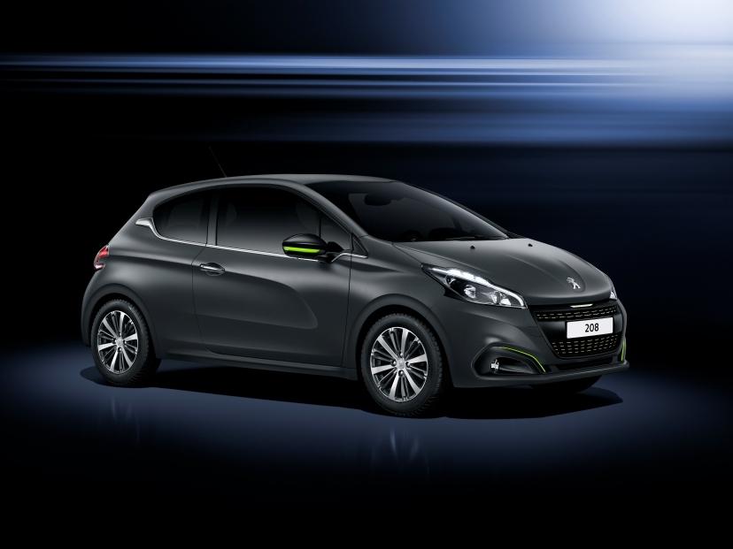 Peugeot 208 dostane dva nové strukturované laky karoserie