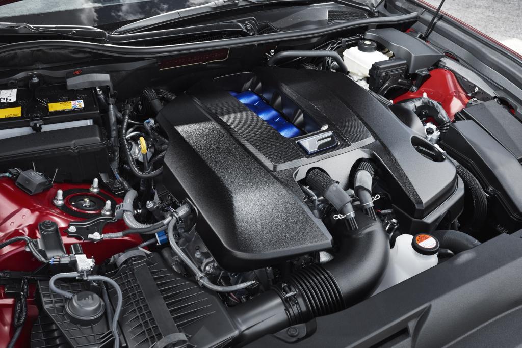 Lexus GS F engine