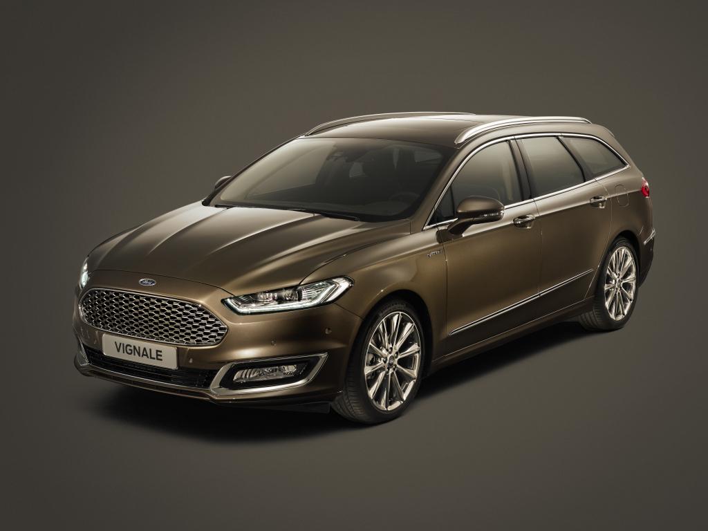 Ford Vignale Mondeo - nejluxusnější Mondeo již od května