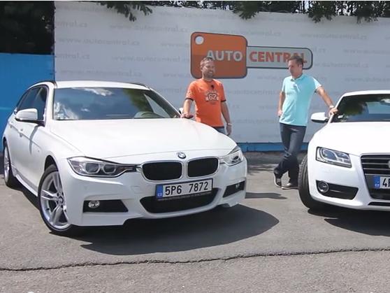 Video: BMW 320d xDrive Touring F30 vs. Audi A5 Sportback