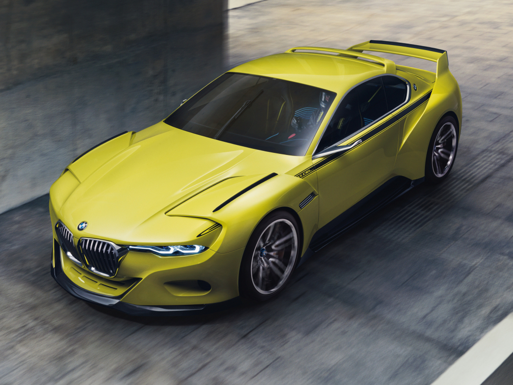 BMW 3.0 CSL Hommage - závoďák s dotykem vyšší třídy