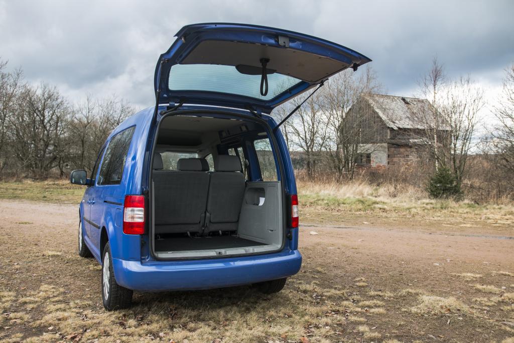 Volkswagen Caddy kufr