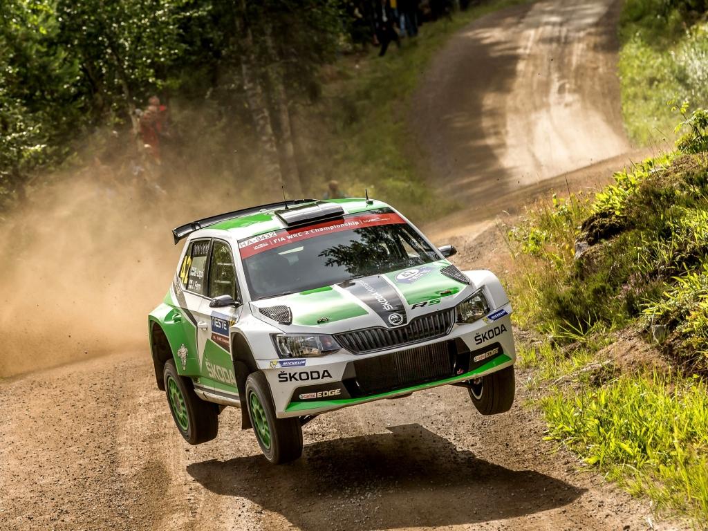 Skoda Fabia R5 Si Z Finske Rallye Odvezla Double