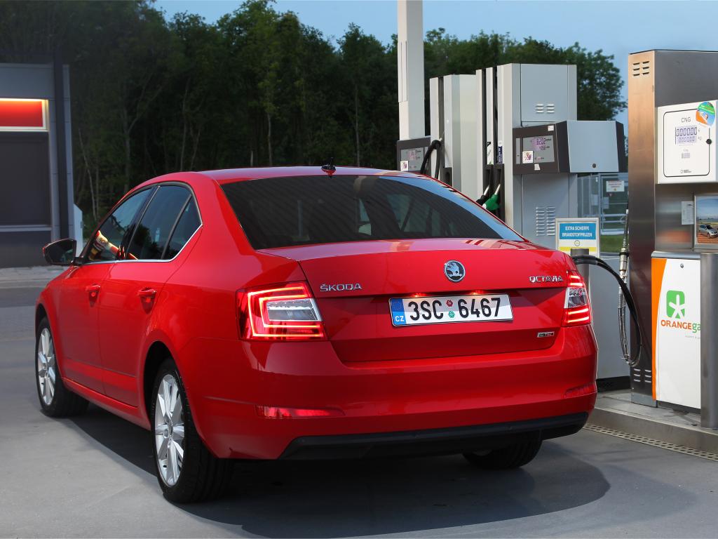 Škoda Octavia G-TEC ujela 1700 km na jedno natankování