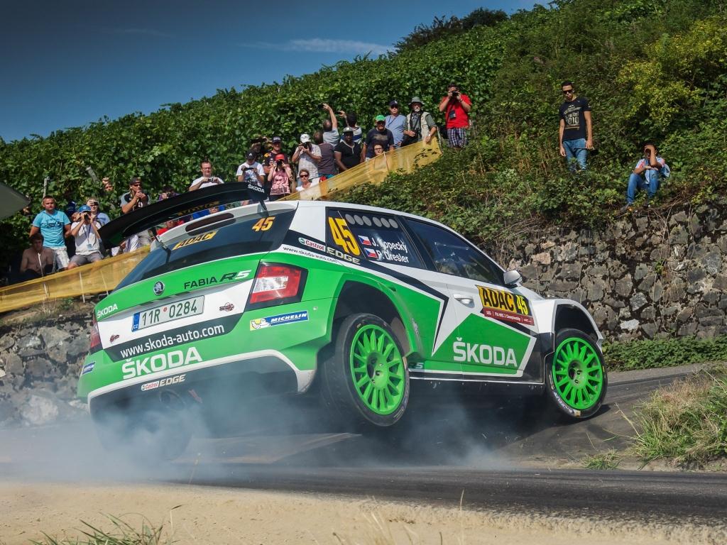 V Německu vybojoval Jan Kopecký v kategorii WRC2 hattrick