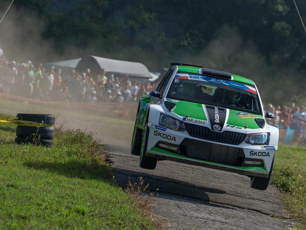 Barum Rally 2015: Jan Kopecký na Fabii R5 šampionem MČR