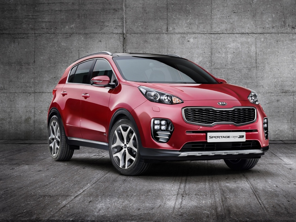 KIA Sportage 2016 - oficial photo