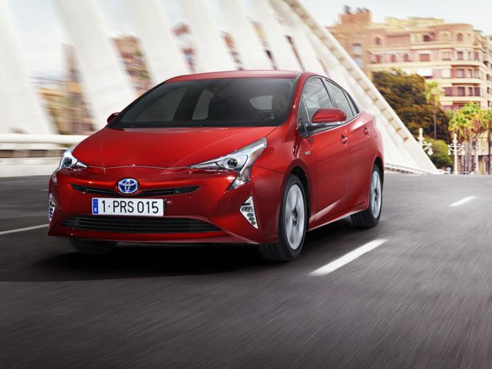 Nová Toyota Prius se představí ve Frankfurtu