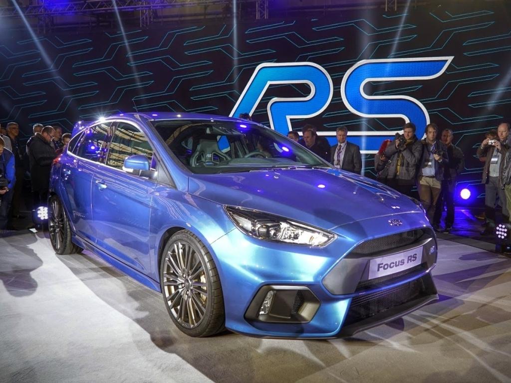 Ford Focus RS - české ceny začínají na 915 900 Kč