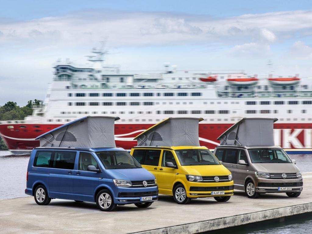 Nový Volkswagen California od 1 280 844 Kč