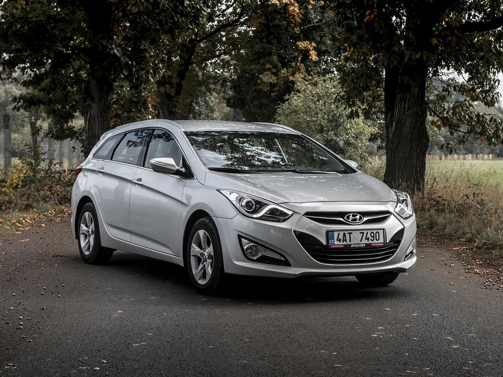 Test ojetiny: Hyundai i40 CW 1.7 CRDi – Tvrdá práce se vyplácí.