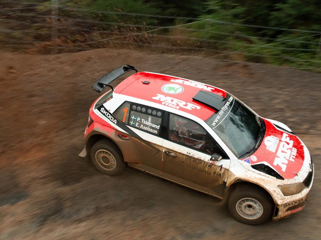 Škoda Fabia R5 neměla na čínské rallye soupeře